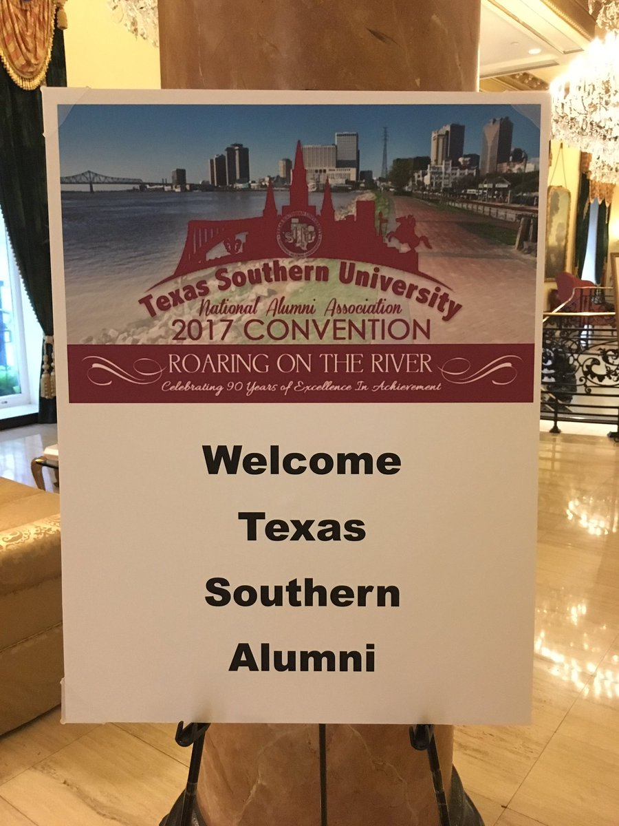 I enjoyed speaking with a group of @TexasSouthern alumni yesterday. I shared some thoughts about the importance of #philanthropy <br>http://pic.twitter.com/mmbUOQM00f