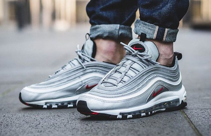 17023a03d8 air max 97 silver and red > OFF47% Discounts