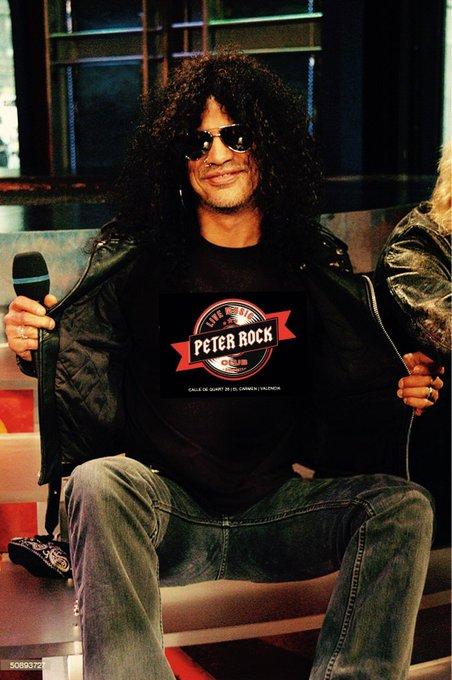 Happy birthday 52, Slash.