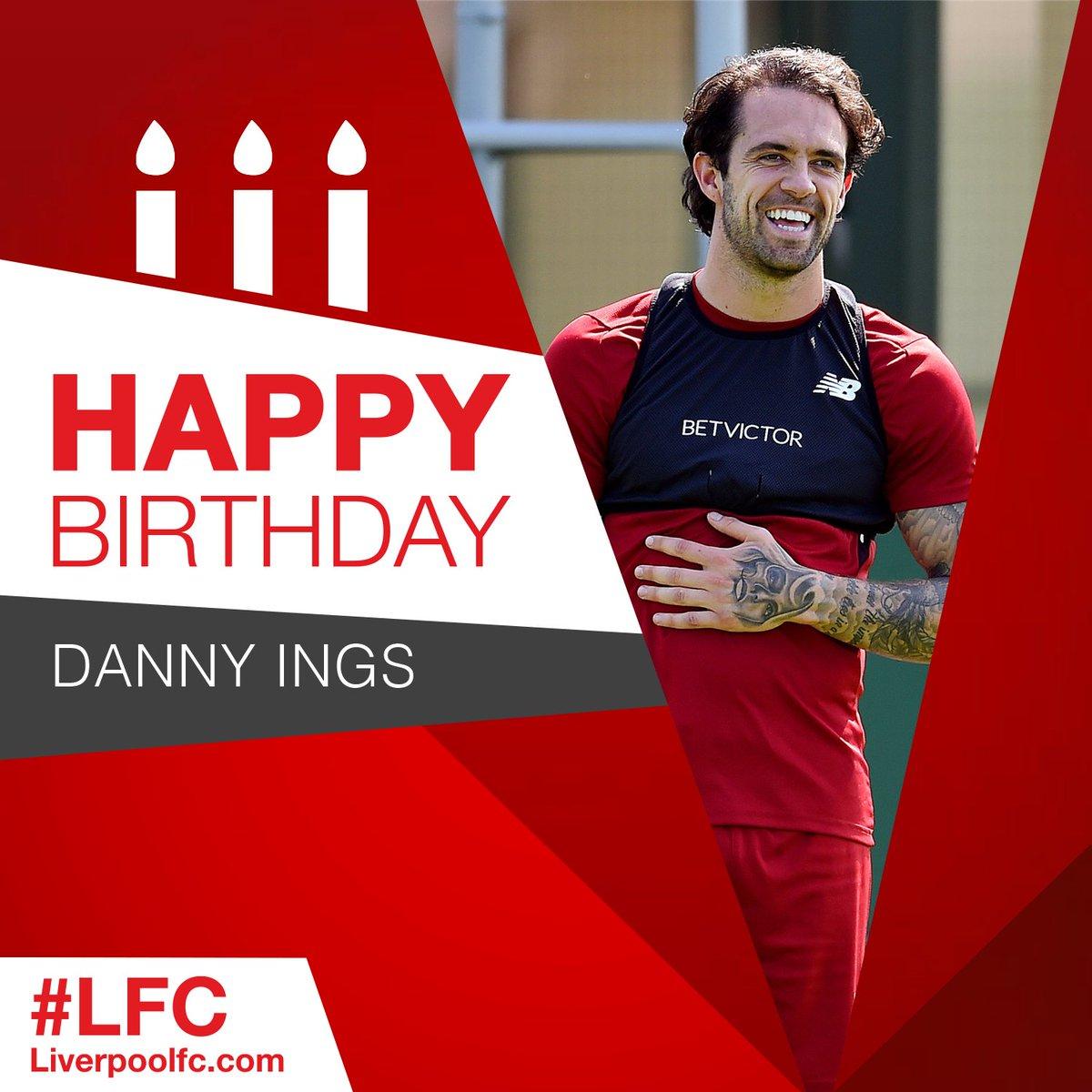 Happy birthday, @IngsDanny! 🎂