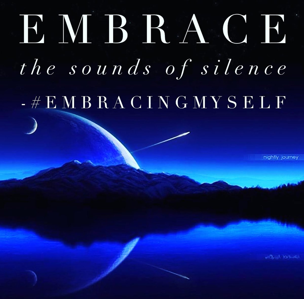 #Embrace the sounds of #silence to find #innerpeace #joy #fulfillment #strength #clarity #empowerment #EmbracingMyself #peaceofmind #peace<br>http://pic.twitter.com/XhGh3pDLuO