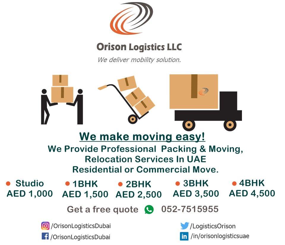 Orison Logistics UAE (@LogisticsOrison) | Twitter