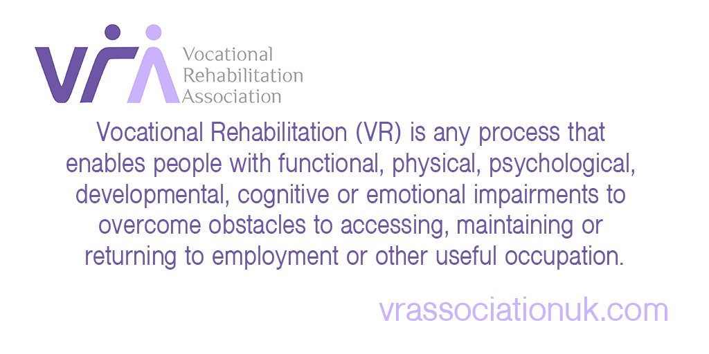 #didyouknow that 1 in 4 of the UK population need #vocational #rehabilitation services i#vocrehab #vocrehabuk #health #work #rehab<br>http://pic.twitter.com/HL1xdDSwB2