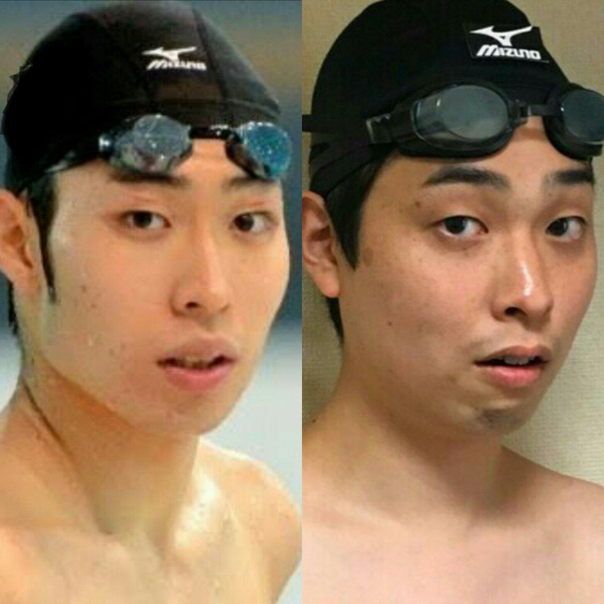 """ストレッチーズ福島 na Twitteru: """"水泳の萩野公介選手に似てるとよく言われます。 #似てると思ったらRT #萩野公介… """""""