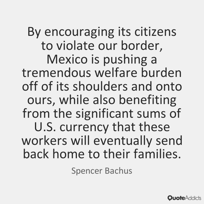 Mexico doesn&#39;t benefit to help or assist the US with Border Control! That&#39;s why it is OUR responsibility to #BuildTheWall to keep them OUT!! <br>http://pic.twitter.com/wAUOyrqcKG