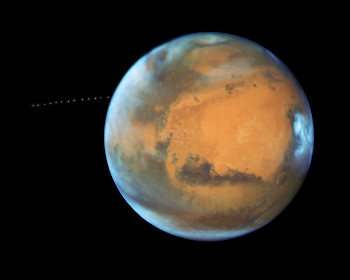 Mars Has Close Encounter With Earth Tonight - Space.com