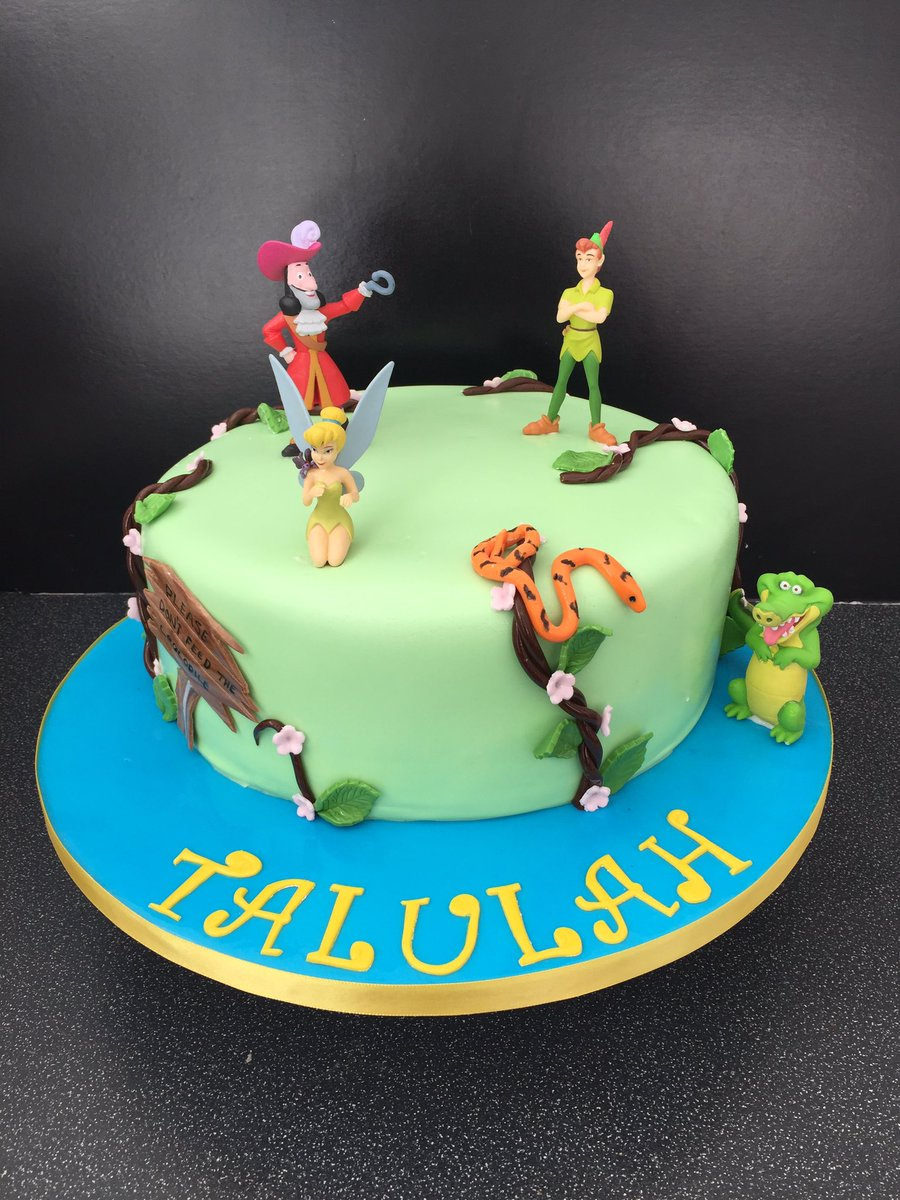 Excellent Kays Cake World On Twitter Peterpancake Kayscakeworld Personalised Birthday Cards Paralily Jamesorg