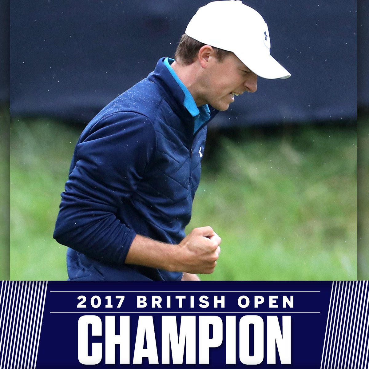 Jordan Spieth is a major champion once again. #TheOpen