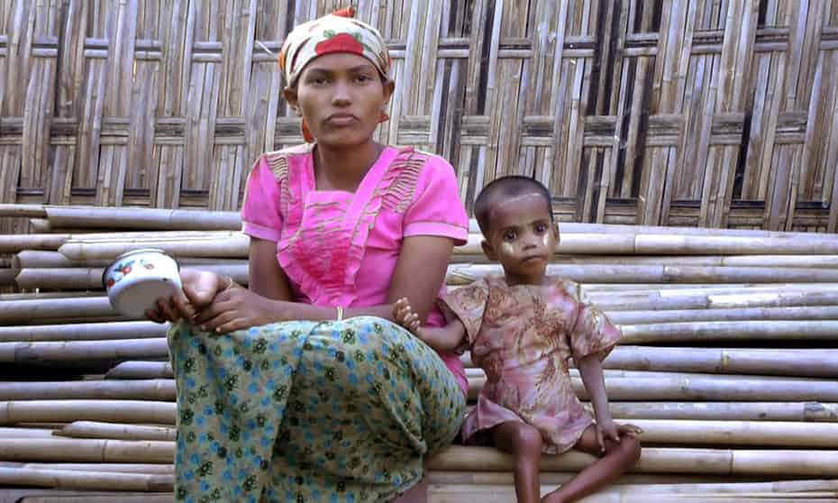UN warns 80,000 children &#39;wasting&#39; from hunger in #Myanmar  http:// bit.ly/2vyV3n0  &nbsp;  <br>http://pic.twitter.com/6xy0IP7s9h