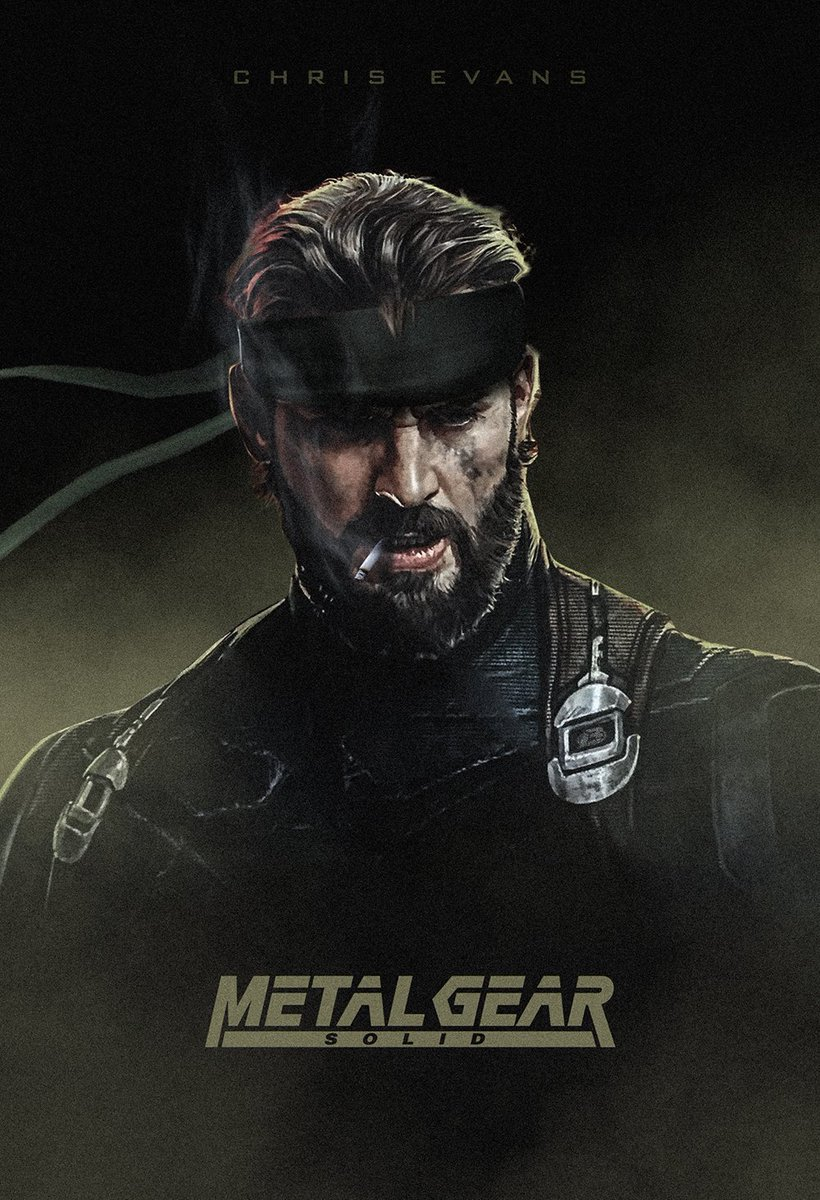 This is all I see now @ChrisEvans #SolidSnake #SDCC