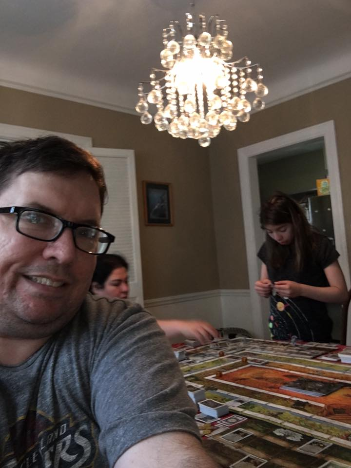 Great family time at Kirk Harrington&#39;s house playing Talisman! #SundayShare #Talisman<br>http://pic.twitter.com/LhQCaJWGls
