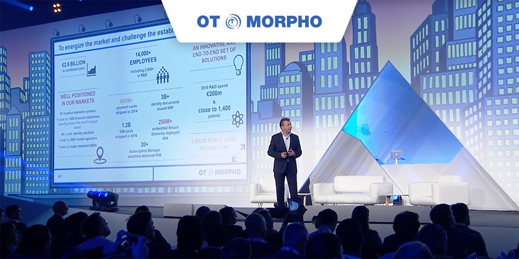 Keynote @Money2020 with Didier Lamouche CEO of #OTMorpho on the magic combination to shape the future of #payments  http:// ot.fr/DL20  &nbsp;  <br>http://pic.twitter.com/b2OMOmGHso