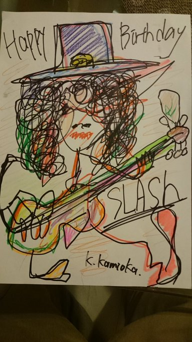 Happy Birthday!! Slash! Last live in Japan was so wonderful!!