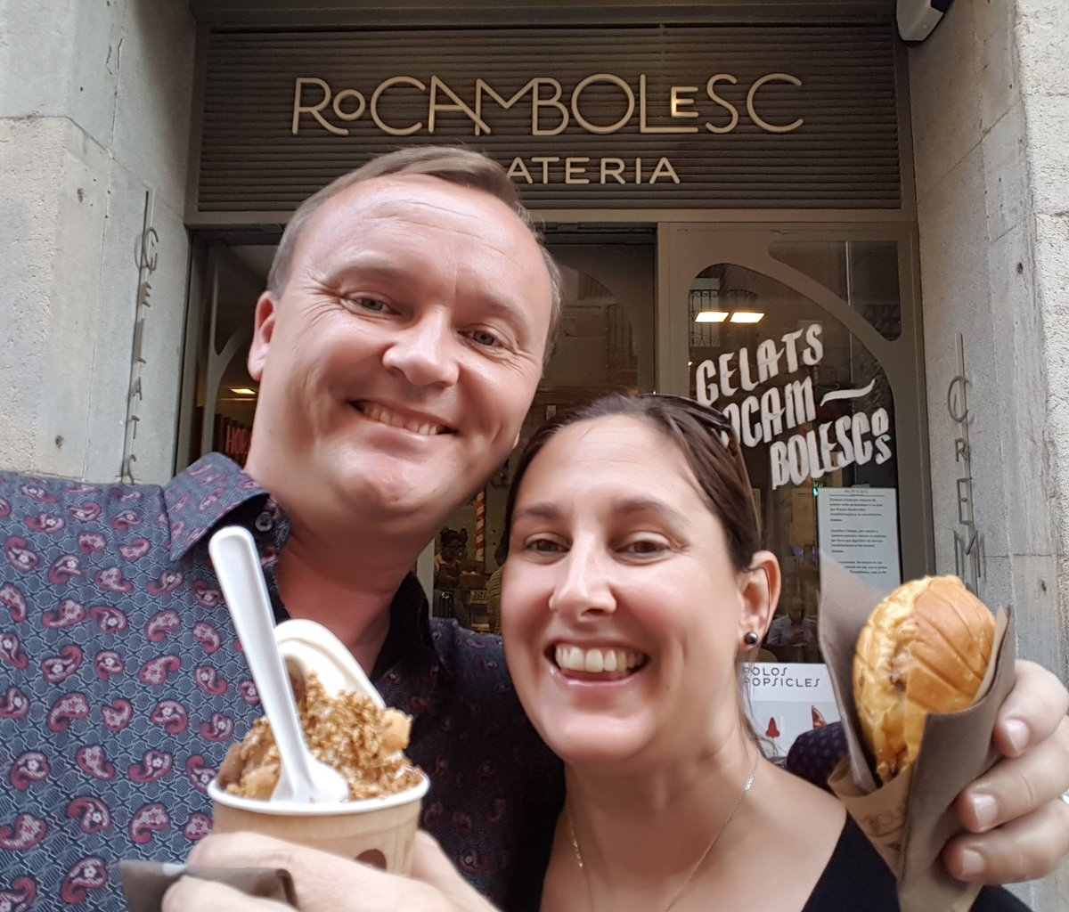 A must stop on my #birthday eating tour of #Girona. @RRRocambolesc for some tasty #icecream.<br>http://pic.twitter.com/GE4Nx2yHnu