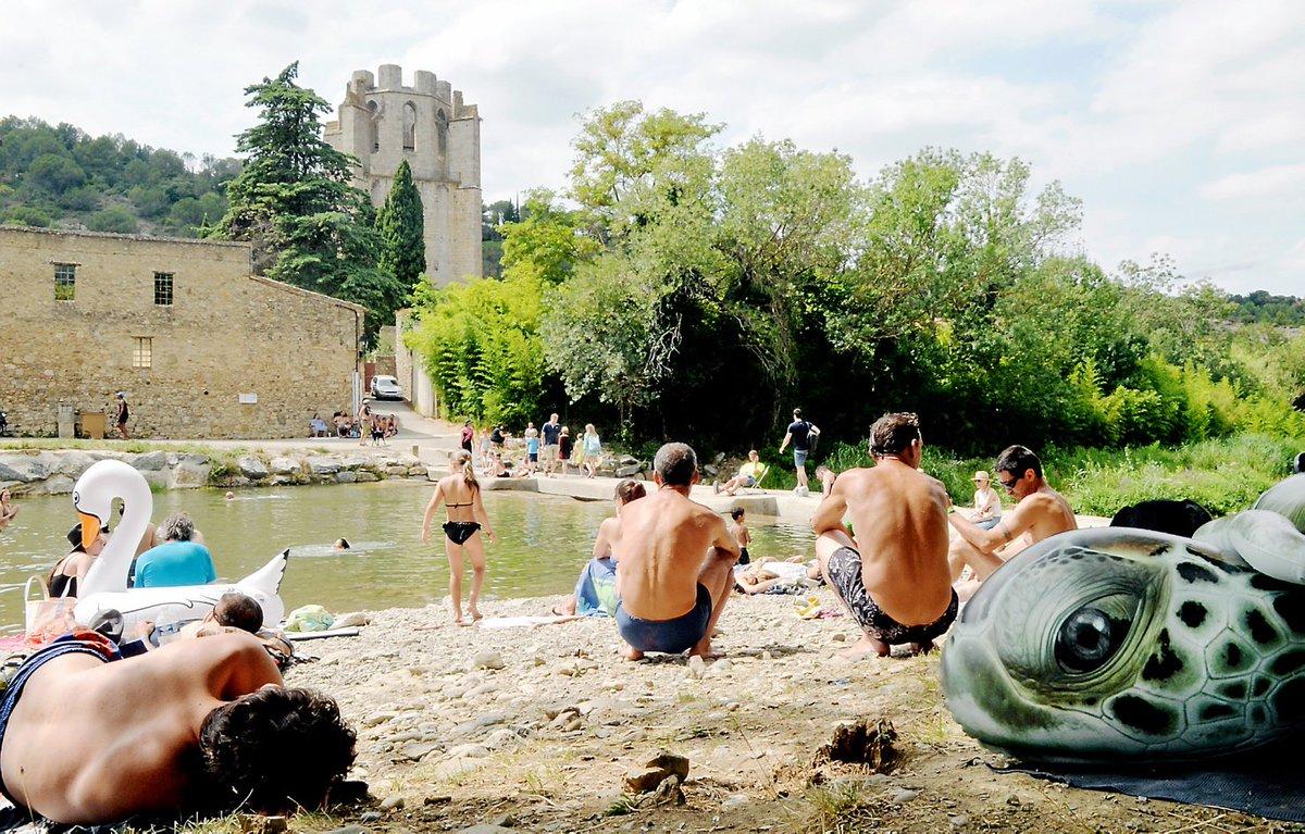 #Aude : journée #baignade le long de l'Orbieu à Lagrasse https://t.co/otyD5PPUd0