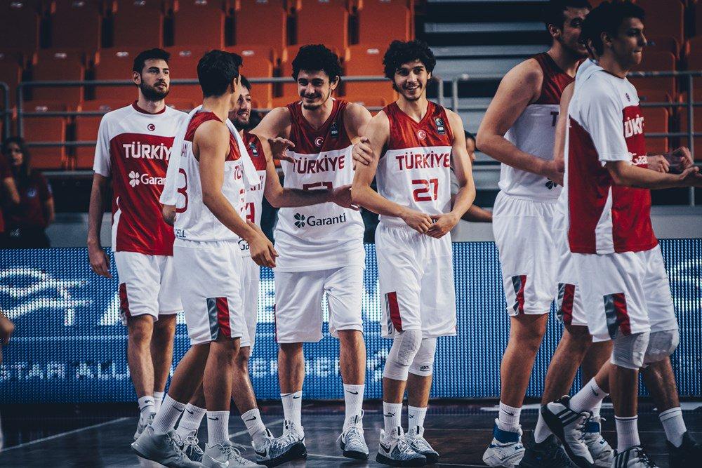 Türkiye 85-82 Ukrayna (U20 Avrupa Şampiy...