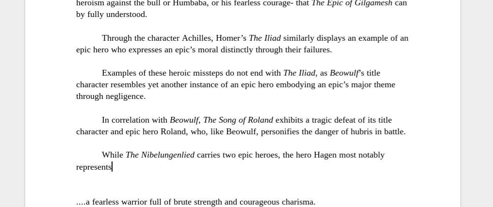 beowulf hubris