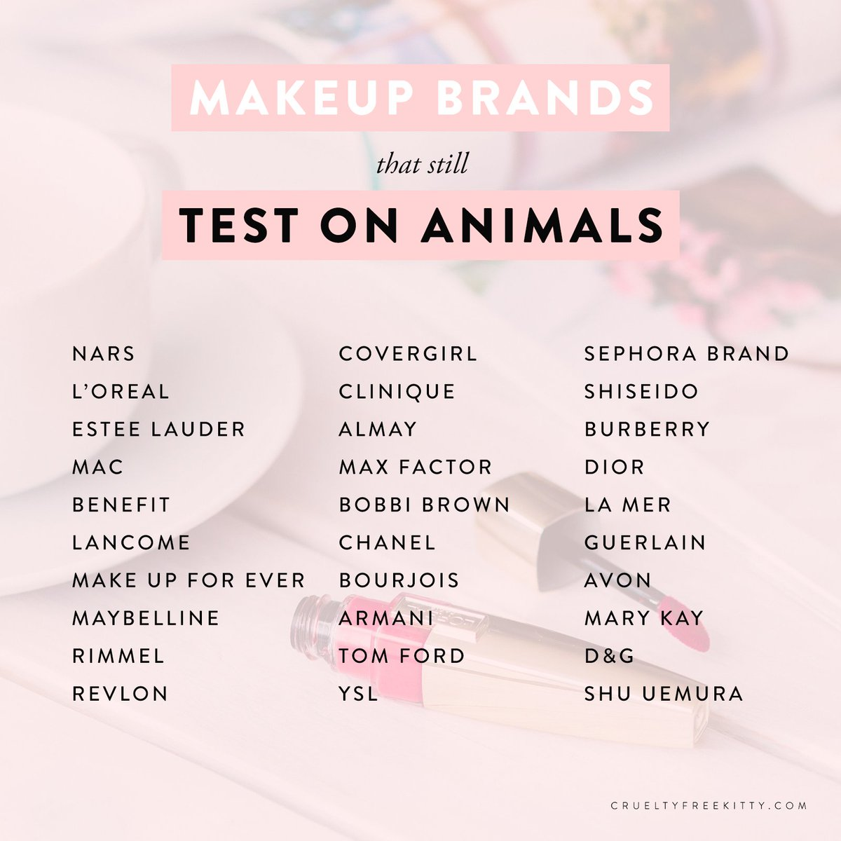 These Makeup Brands Still Test On