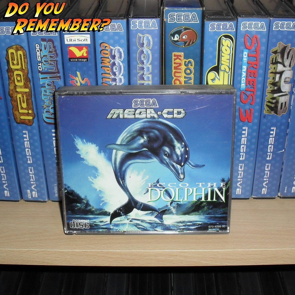 GAME OF THE DAY  NAME: ECCO THE DOLPHIN  DEVELOPER: ED ANNUNZIATA / NOVOTRADE  FORMAT: MCD  RELEASED: 1993  #sega #retrogaming #90s #gaming<br>http://pic.twitter.com/a4LiTpMeyq