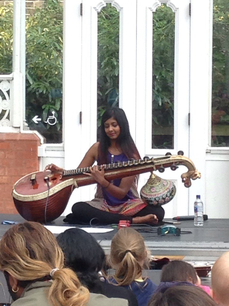 Wonderful day of Indian food,music and culture @HornimanMuseum #indiansummerbaaja https://t.co/1oSEvMYztf