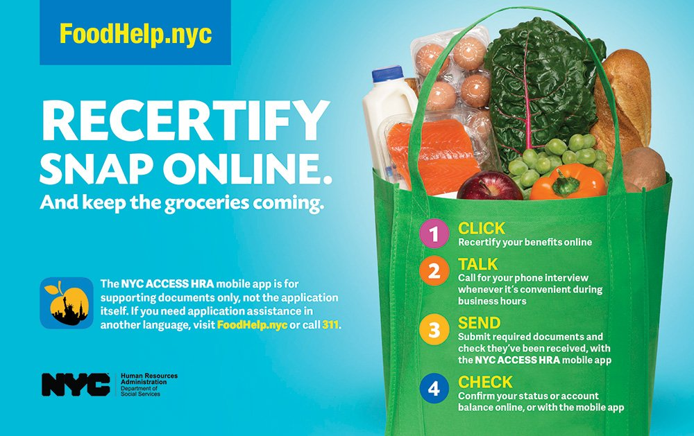 Human Resources Food Stamps Ny