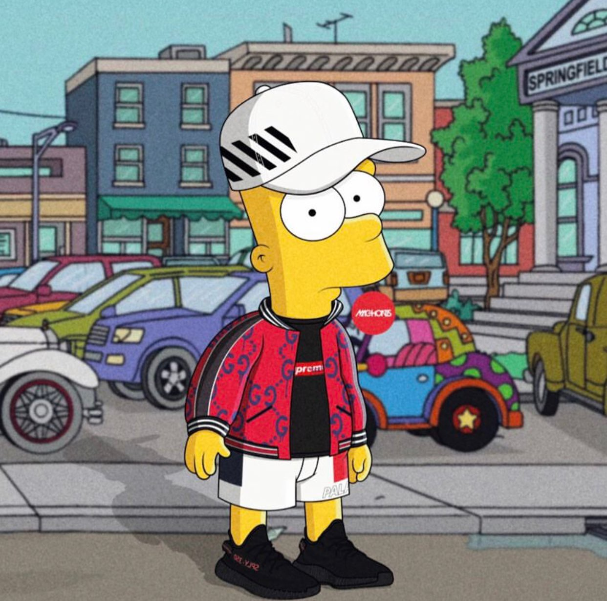 """Supreme The Simpsons: FRE Visions On Twitter: """"Dope Or Nope?…"""