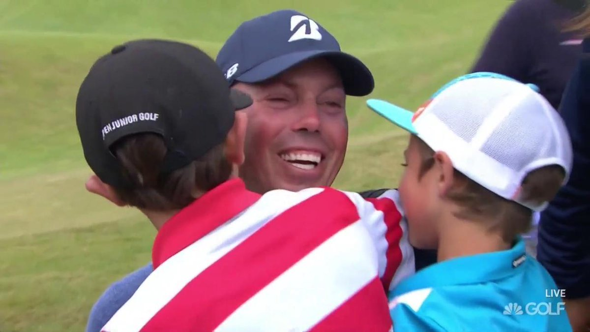 No agony of defeat here. #Kuchar #TheOpen https://t.co/mhqURBlgwr