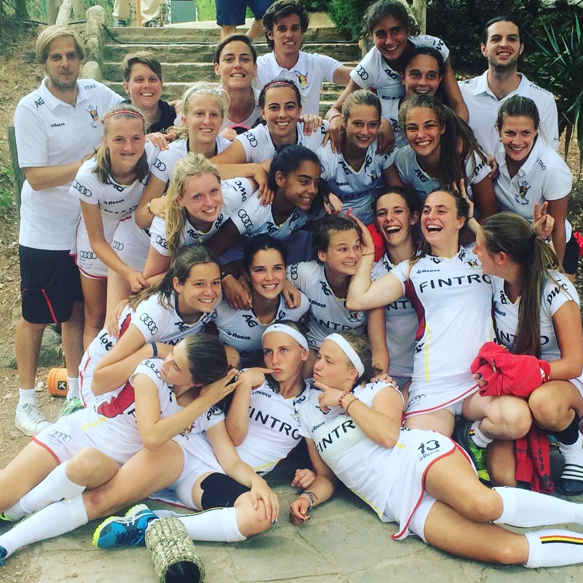 On this last day in Terrassa, the BeGold U18 Girls have won from England 2-1 ! Well done girls  #begold #beleng #terrassa #6nations #hockey<br>http://pic.twitter.com/Ip0ti8nLyF