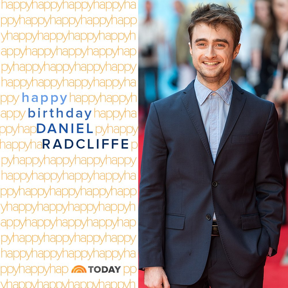Happy birthday, Daniel Radcliffe. We hope it s magical!