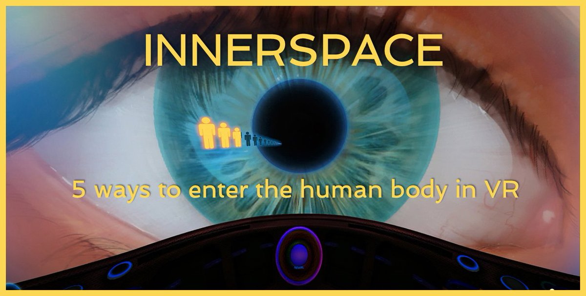Innerspace: 5 ways to enter the human body in #VR  http:// bit.ly/2tB79hL  &nbsp;   via @steve_bambury #ARVRinEDU #edtech #biology #science #VRedu<br>http://pic.twitter.com/mXgkmzrmum