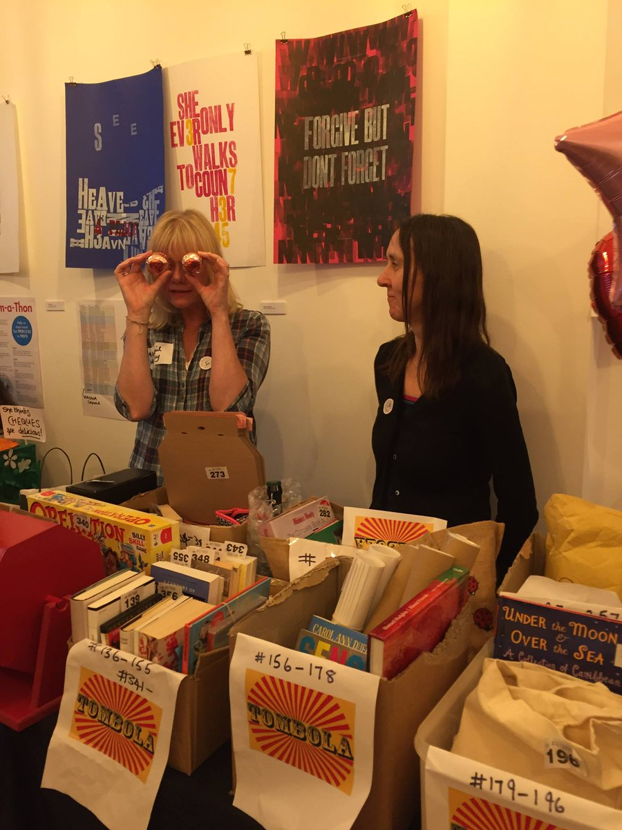 test Twitter Media - RT @AbegailMorley: Tunnocks teacakes eyes and tombola at yesterday's #poemathon @PoetrySociety https://t.co/V92PFbOqaB