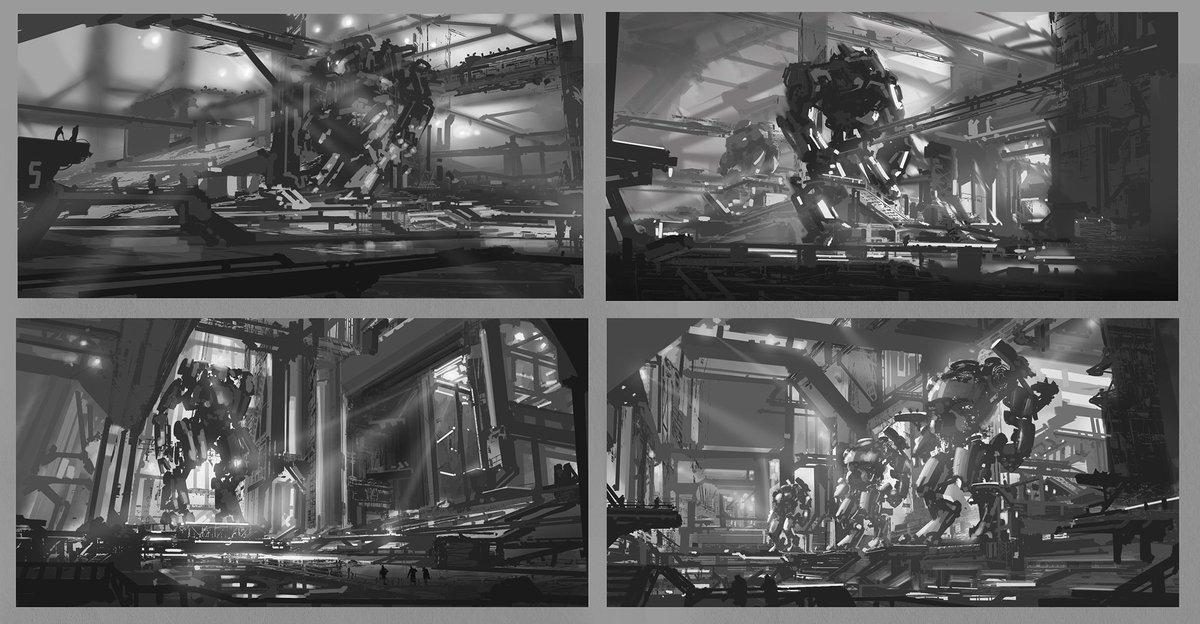 Ryan Millard On Twitter Massive Robot Idea Sketches From