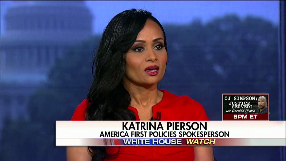 .@KatrinaPierson: 'This whole Russia nonsense is a hoax. We still to this day have not seen the DNC server that they claim was hacked.'