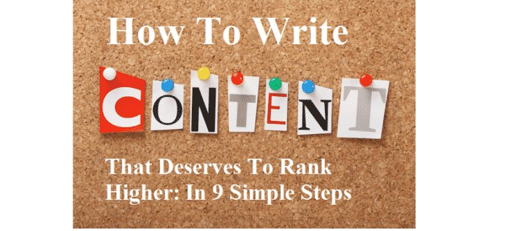 9 simple steps to write great content that deserves to rank higher #ContentMarketing #Content #ContentWriting  https:// goo.gl/oZzEw9  &nbsp;  <br>http://pic.twitter.com/B3I3s8PuUc