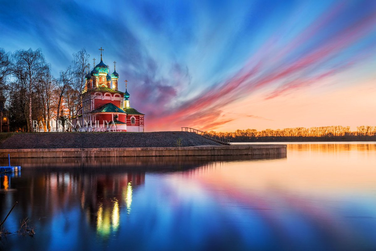 Temple of Demetrius on the Blood, Uglich Photo by Julia Baturina #sunset #landscapeRussia<br>http://pic.twitter.com/R4GGBZDWrS
