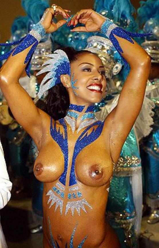 Sexy Brazil Samba Girl Hot Nude Dance