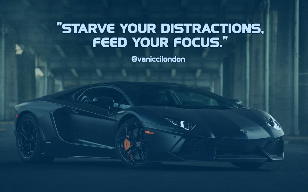 Starve your distractions, feed your focus.  Got Instagram? Go here =&gt;  http:// ow.ly/HyxD30dLXaW  &nbsp;    #quoteoftheday #hustle #BeAwesome<br>http://pic.twitter.com/acxkwrA3R6