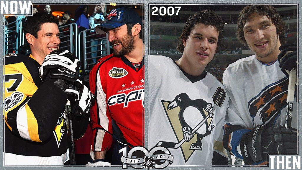 Kids then, captains now. #NHL100 https://t.co/FwNjQ4Gjtm