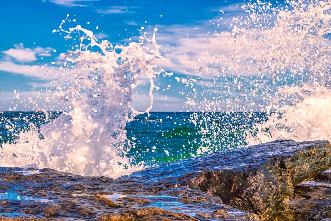 May your joys be as deep as the ocean and your sorrows as light as its foam...  #blessing #joy #life<br>http://pic.twitter.com/JwCVtJ7At7