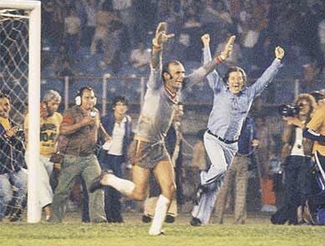 Ele proporcionou uma das maiores emoções de minha vida. O impossível aconteceu, no Mineirão. 1° Brasileiro do #SPFC, 1977 #RipWaldirPeres