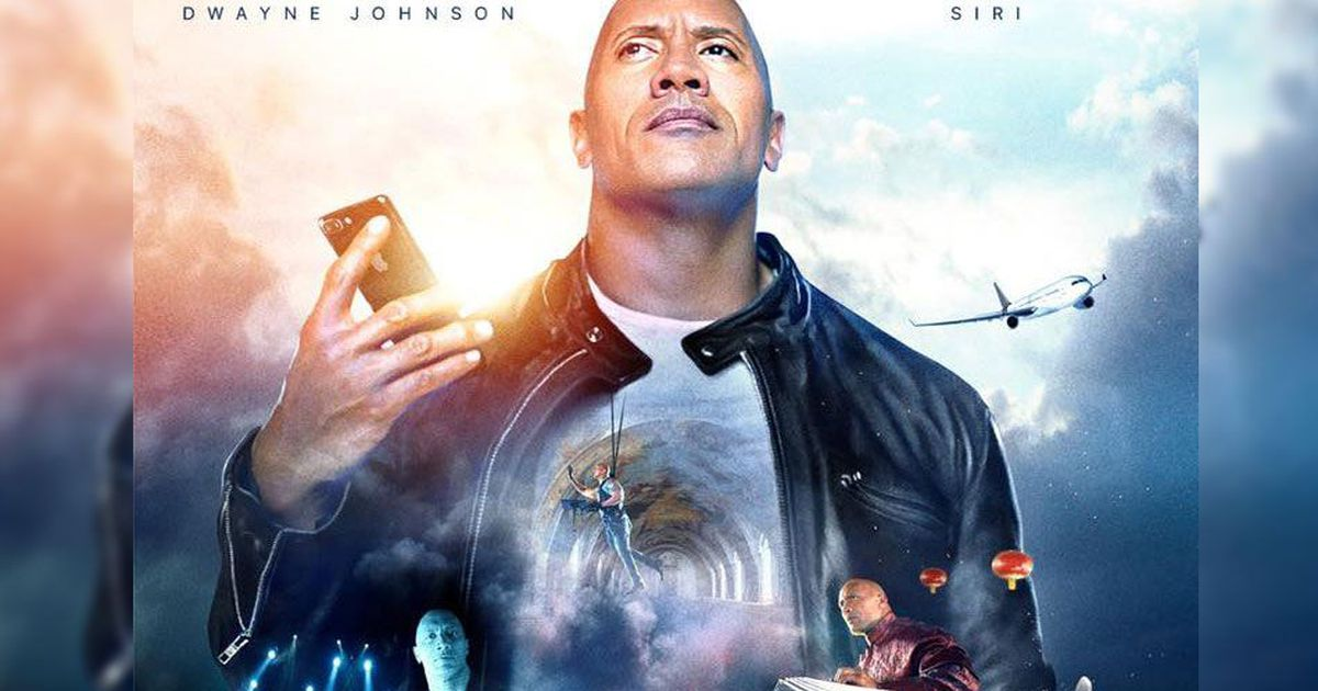 "Siri diventa attrice protagonista in ""The Rock X Siri"", nuovo film di Dwayne Johnson su YouTube Apple"