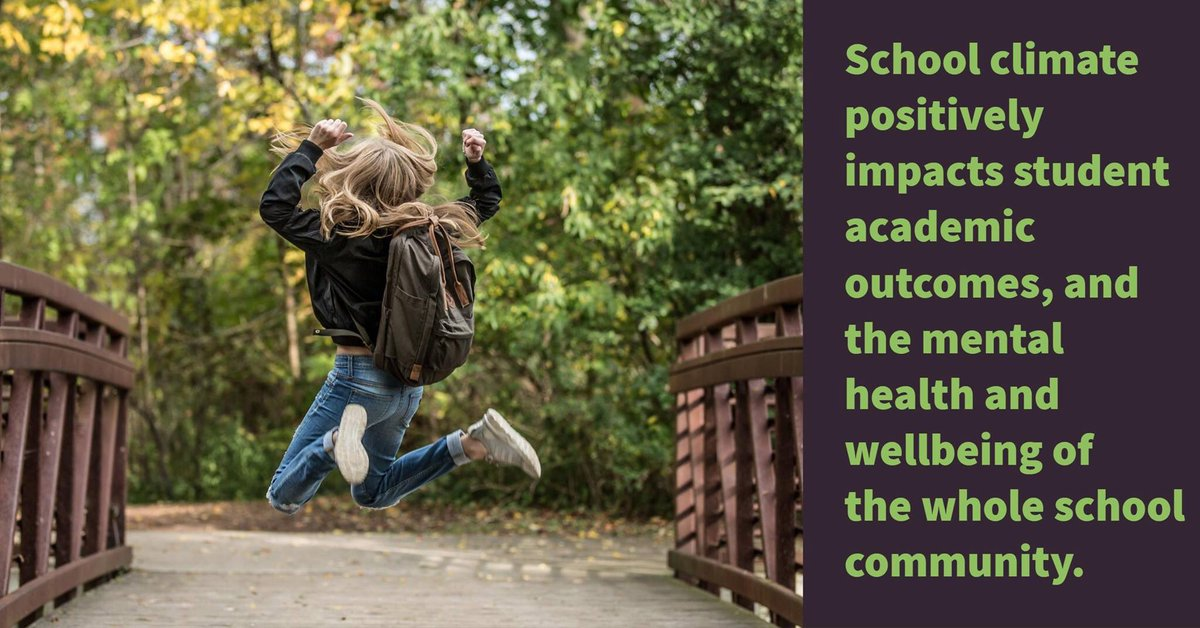 #School climate is a major factor in improving #student #academic and #wellbeing outcomes  http:// ow.ly/oqqc30d5RGO  &nbsp;   @EduTweetOz<br>http://pic.twitter.com/7YCFDnOkaT