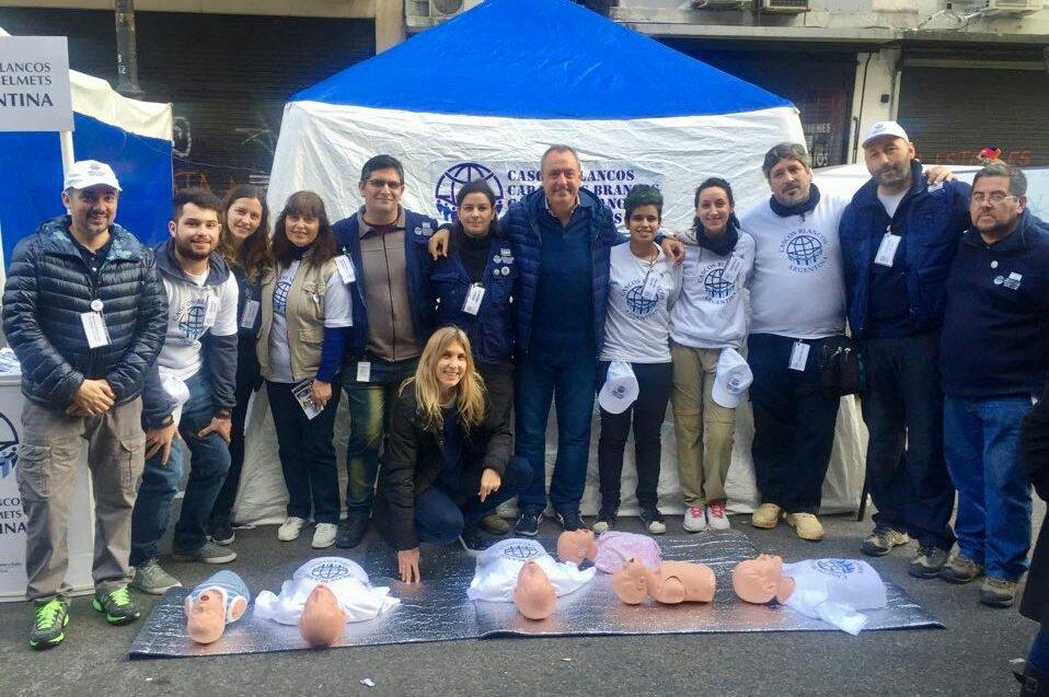 Resultado de imagen para Cascos Blancos Argentinos en COLOMBIA