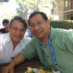 Chilling out with Peter Diamandis at Singularity University.