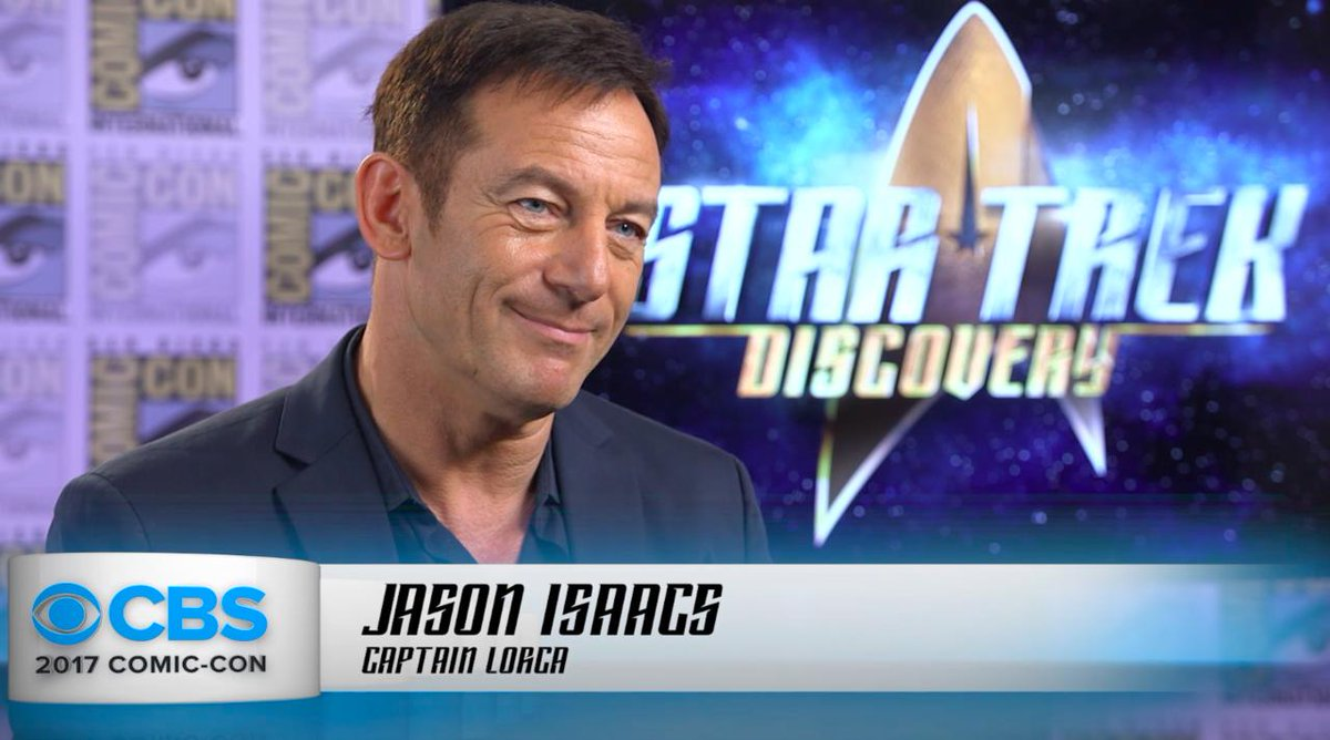 #StarTrekDiscovery's @jasonsfolly shares what it's like to be a Captai...