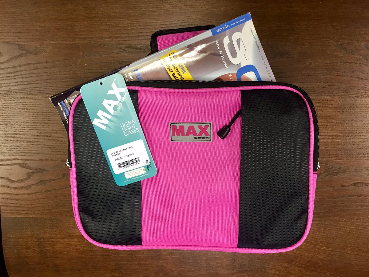 MAX #clarinet case pockets now fit sheet music up to A4 size! #protecstyle  http:// bit.ly/2uk4eaH  &nbsp;   #clarinets #woodwind #orchestra #cases<br>http://pic.twitter.com/rd9NYNS8Ji