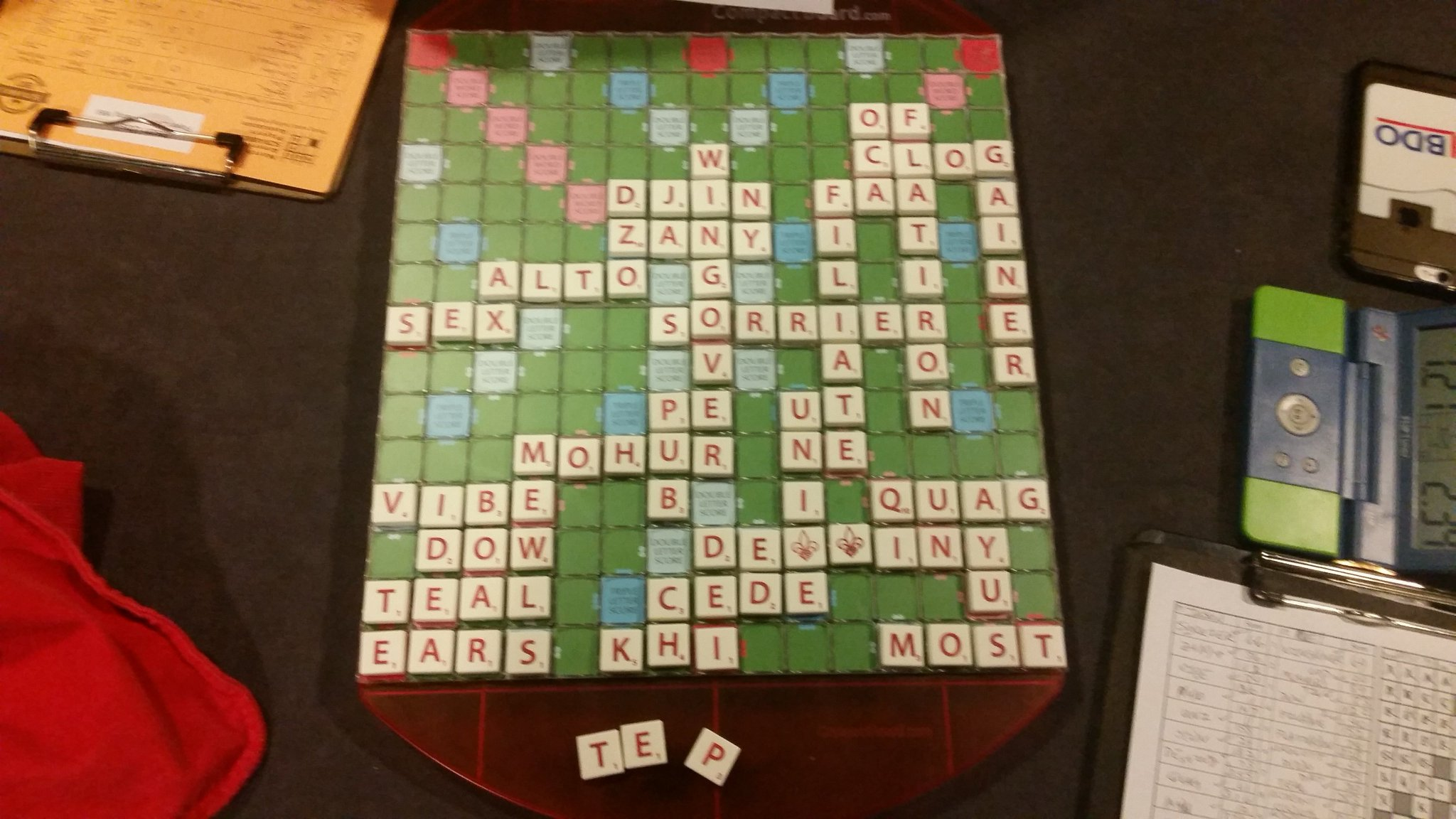 X setup couldn't quite get there and couldn't quite overcome double blank Bingo and q bomb versus ubeika.  4-7.  #scrabble #nasc2017 https://t.co/ptp9U0OgVB