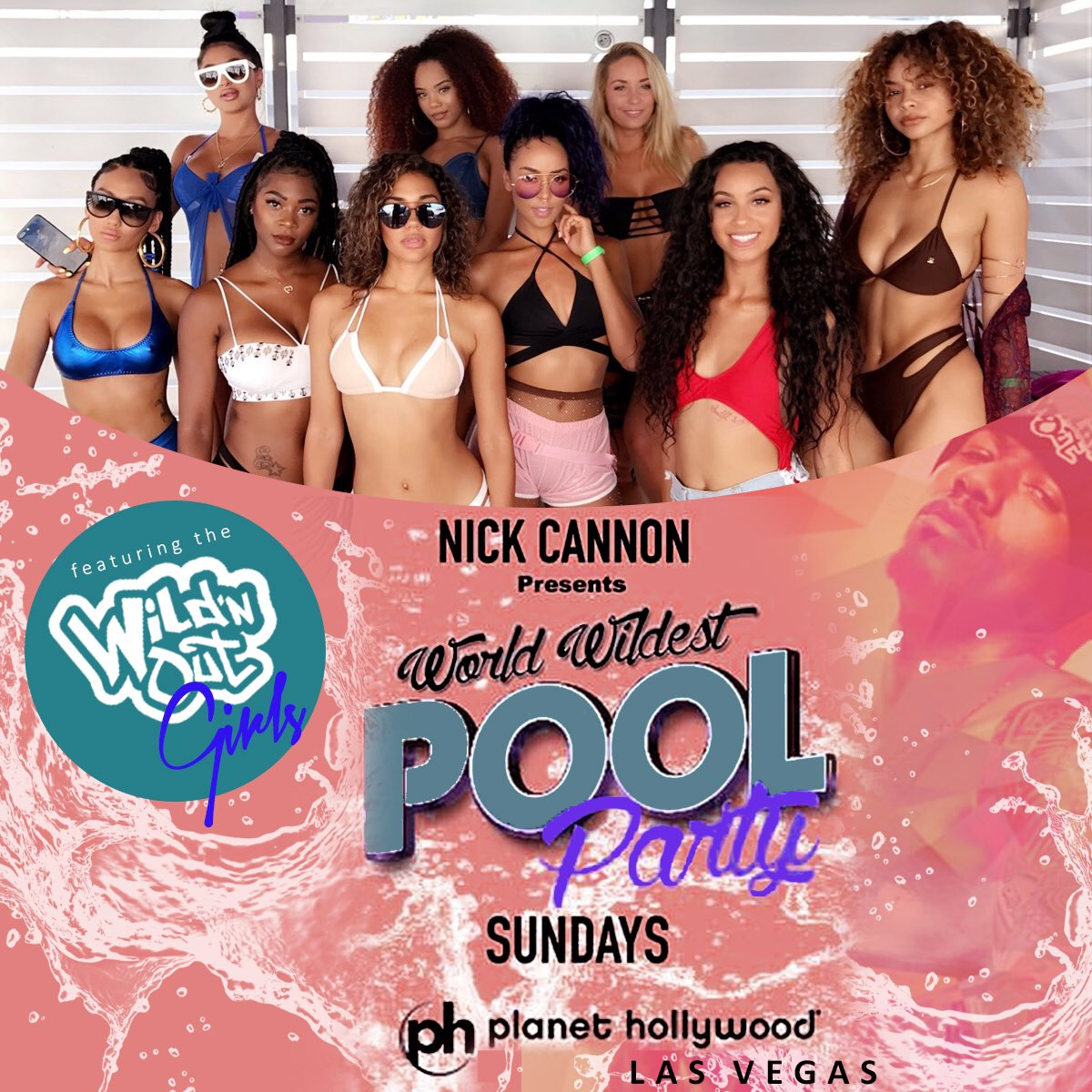 We&#39;re at it again today @phvegas don&#39;t miss it! #ncredible #wildnout @nickcannon<br>http://pic.twitter.com/hwHAck3PcV