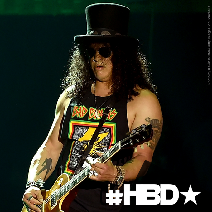Let\s wish a happy birthday to lead guitarist, of the legendary band Guns n\ Roses.