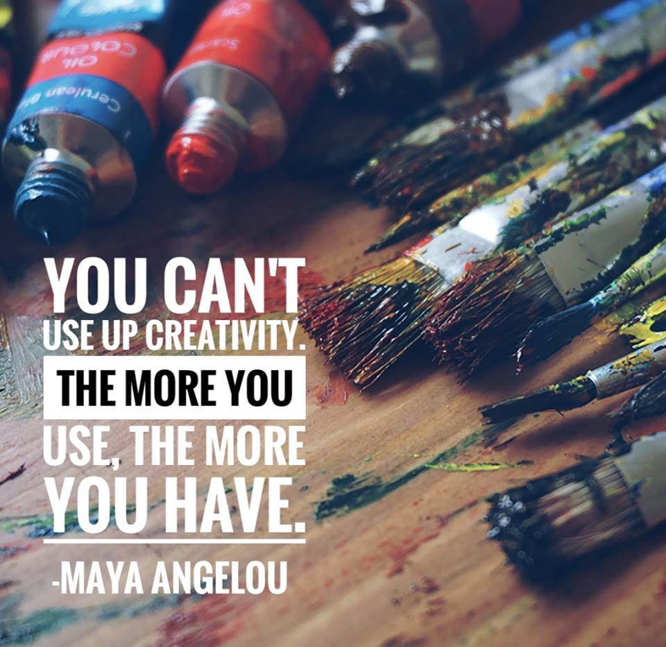 The more you use the more you have...  #art #creativity #Creative #makestuff #Inspire #BeInspired<br>http://pic.twitter.com/NK4jlRsln3